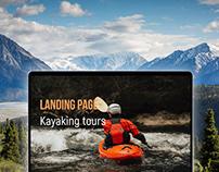 Landing Page Kayaking tours