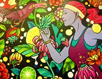 Mural Fitnessbar