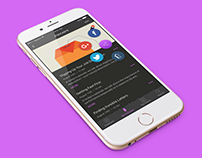 100 Days of UI - Social Share (Apple Podcast Redesign)