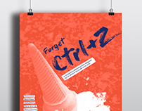 Forget Ctrl+Z Poster