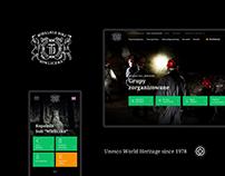 """""""Wieliczka"""" Salt Mine - new website"""