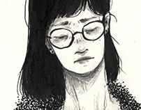 Black Book Sketch 蟲生