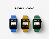 Casio F-91W face for Apple Watch