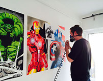 Marvel room - Airbrush