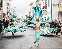 Batuque (Ala Baianas) - Carnaval Mealhada 2018