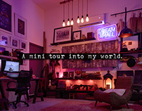 Mini Tour into My World.