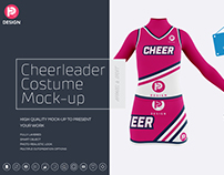 Cheerleader Costume Mock-Up
