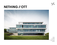 NETHING//OTT // brand identity & website