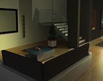 Infoarquitectura modelo 3D