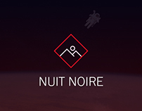 Nuit Noire | Adobe Muse Template