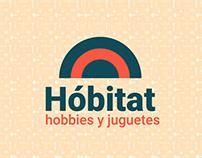 Juguetería Hobitat - Branding - 2017