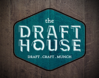 The Draft House logo design