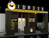 Idrees BBQ & Restaurant Outdoor Stand
