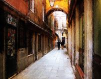 ベネチアの路地/Vicolo veneziano