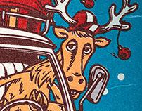 Cervo Rosso X-Mas Card