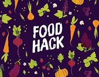 FoodHack 2017 - Branding & Illustration
