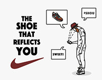The shoe that reflects you  #Shou
