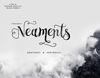 Neaments Free Font