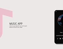 Music App Basic Design