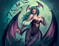 Morrigan Aensland / Fan Art