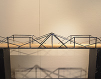 Walking Bridge Design & Scale Model