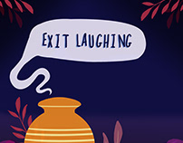 Poster for 'Exit Laughing' Play, Bangalore