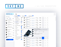 SkyService_UI / UX_ prototype