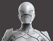 Swift Zbrush sculpt - Modern Combat Versus - Gameloft