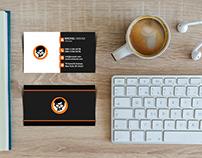 Free Business Card Mockup - 010