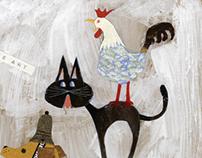 Original Paintings / Fairy Tales of Grimm