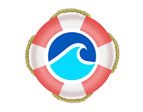 Pool business logo