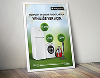 Hotpoint Bahar Konsepti Poster