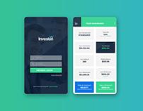 Investment Mobile App UI Design
