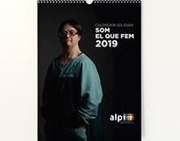 Calendario Solidario Asociación Alpi