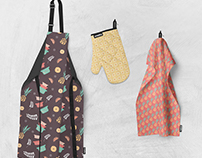 Pyrex fabric design
