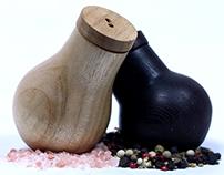 Gusteau Salt & Pepper Set