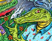 The crocodile / El cocodrilo