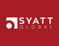 Syatt Global Logo Design