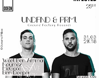 UNDFND & PRML (Ground Factory Records) - Odeon