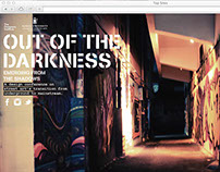 'Out of the Darkness' / Website
