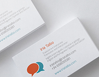 Business Card (Iria Taibo - Translator)