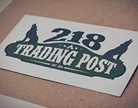 218 Trading Post Branding