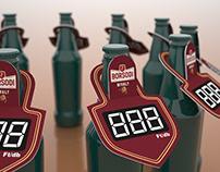 Beerneck pricesigns - Borsodi termékek