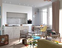 Apartament francuski II