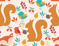 esquilo e raposa