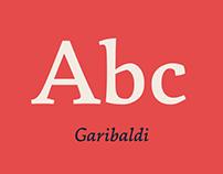 Garibaldi Typeface