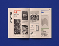 Magazine content and design for Inmagine