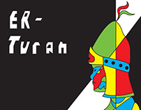 CD cover concept: ER-TURAN