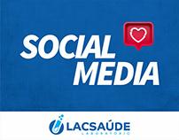 Social Media - Lacsaúde Laboratório