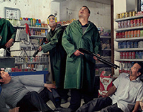 Electrolux vacuum cleaner print campaign